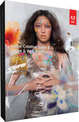 ADOBE CS6 DESIGN EN WEB PREMIUM PC LICENTIE