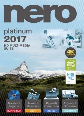 Nero 2017 Platinum - Nederlands